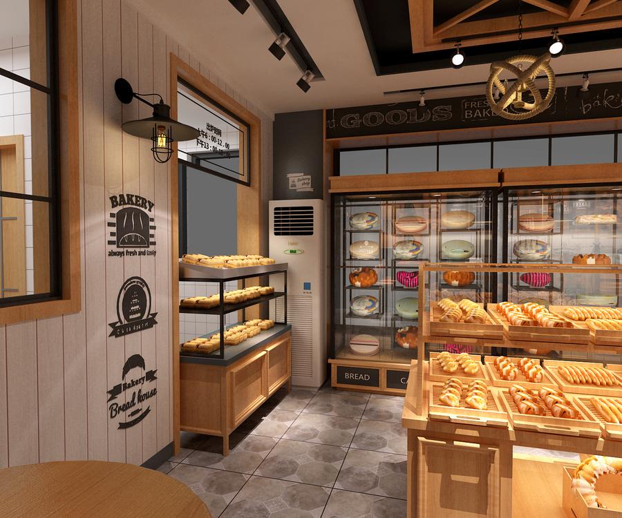 面包店柜台设计