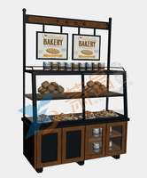 Elevated bread cabinet