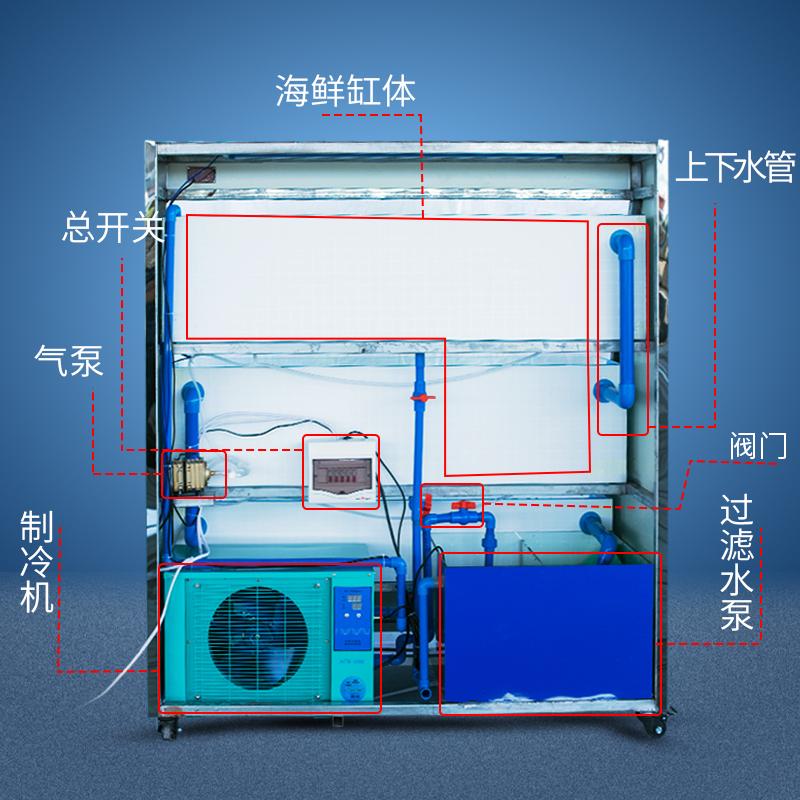 海鲜缸系统示意