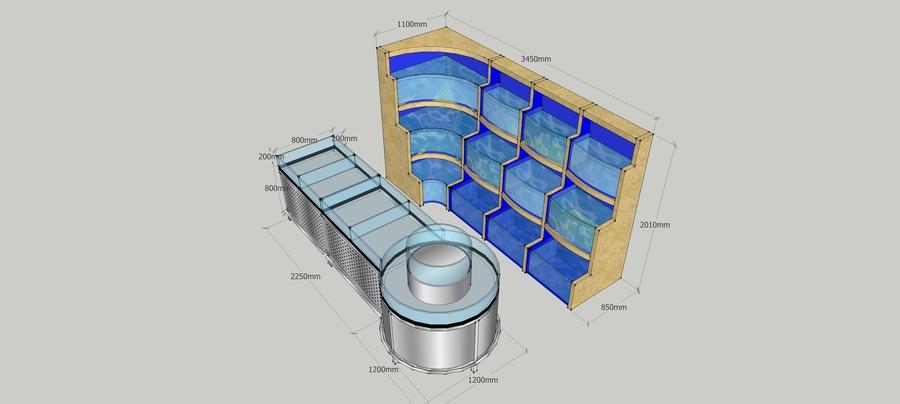 海鲜鱼缸设计