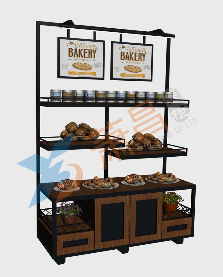 Bread display cabinet