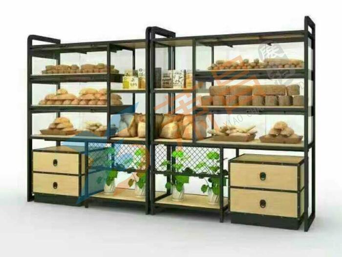 个性错层式面包单面柜