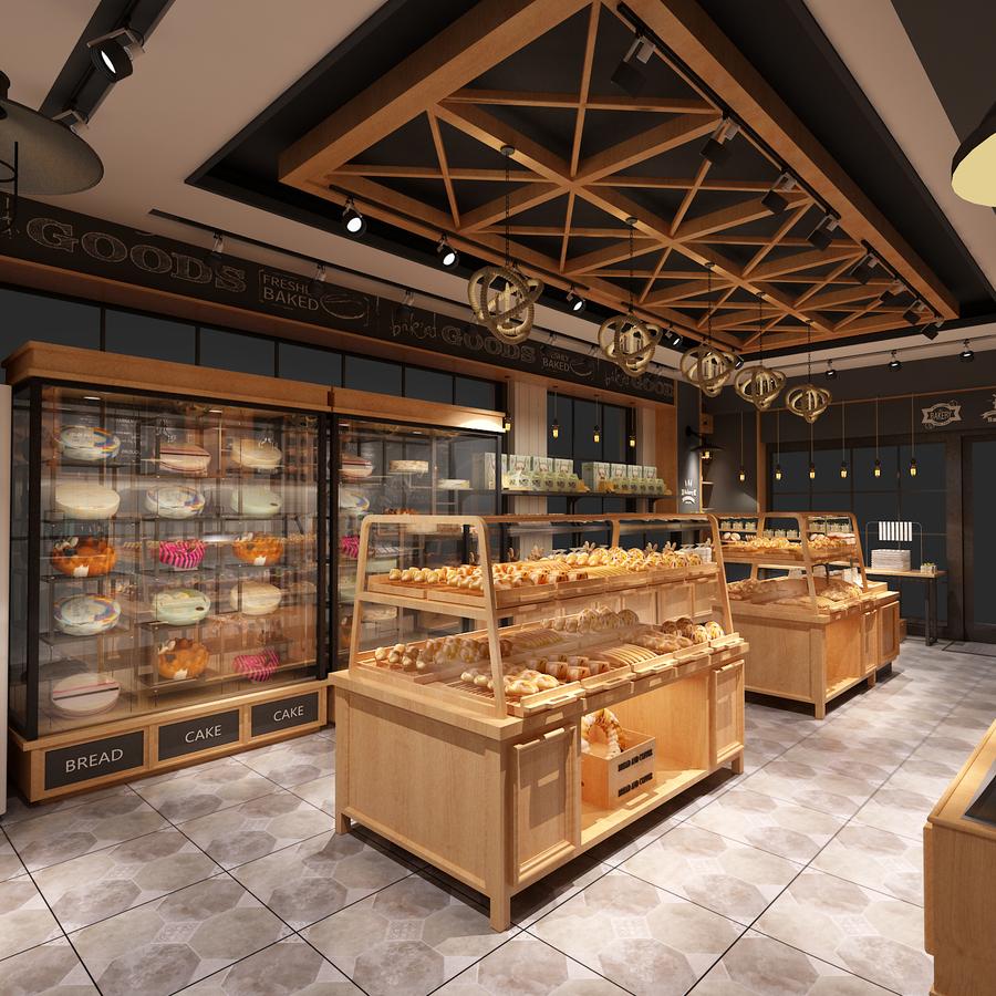 面包店整体规划