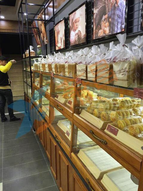 超市面包柜