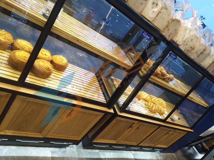 移门面包单面展示柜
