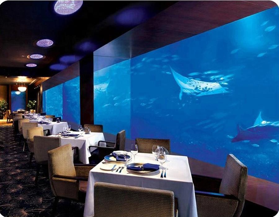 海底餐厅亚克力鱼