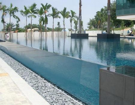 大型室外亚克力游泳池